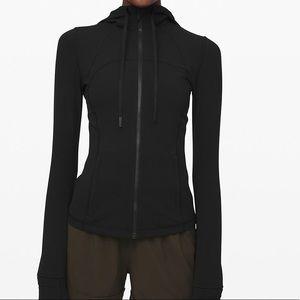 NWT Lululemon Define Hooded Jacket Nulu Black Sz 8